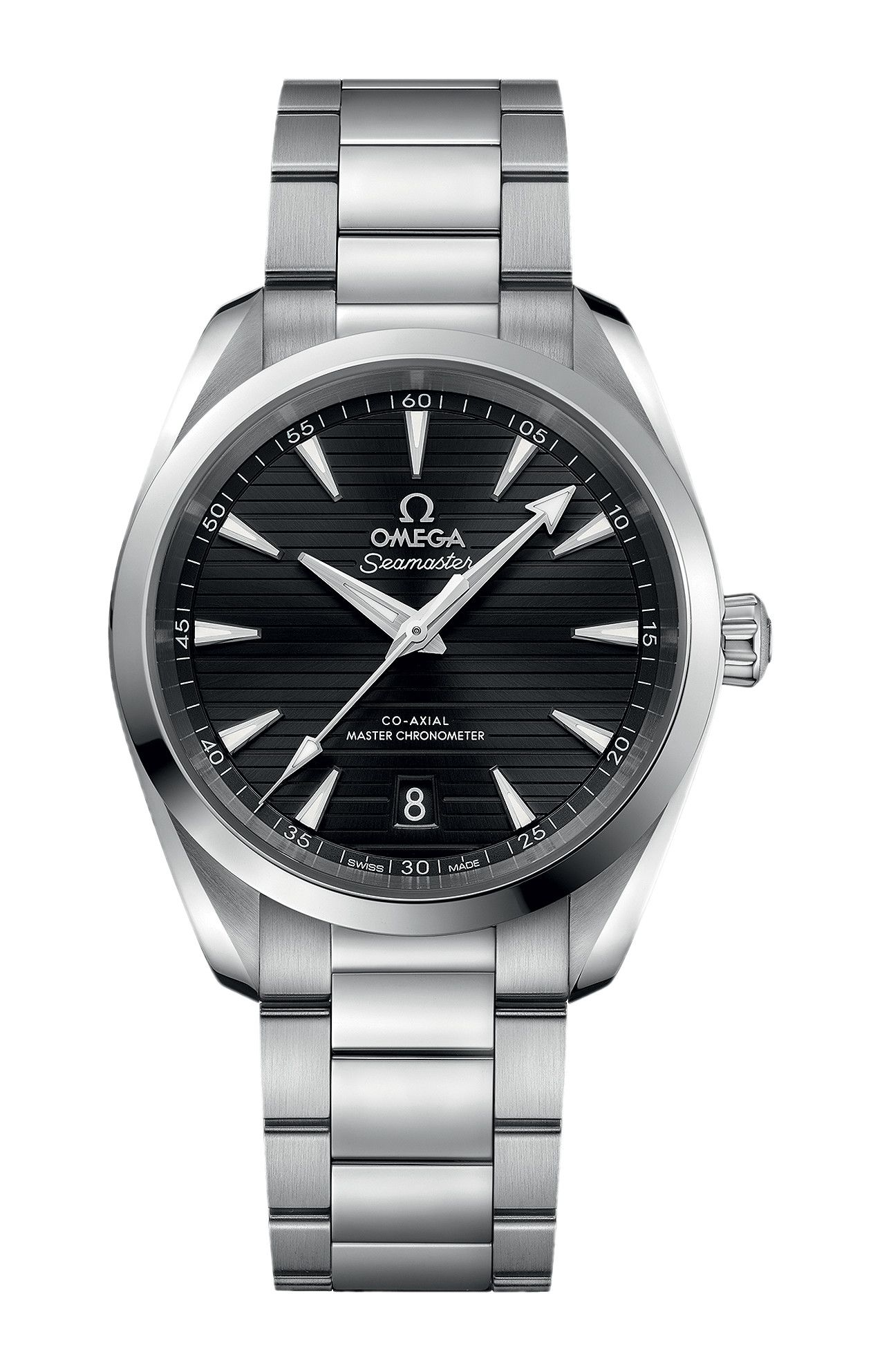 SEAMASTER AQUA TERRA 150M OMEGA CO-AXIAL MASTER CHRONOMETER 38 MM - 220.10.38.20.01.001