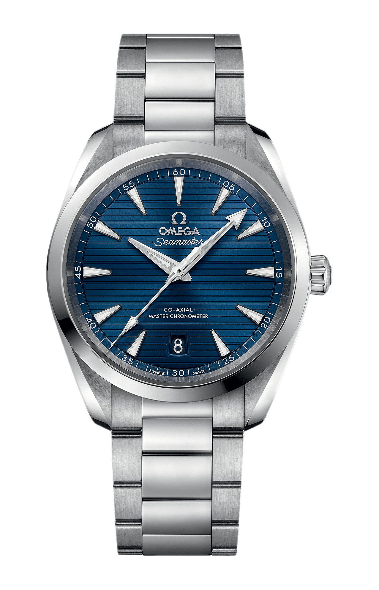 SEAMASTER AQUA TERRA 150M OMEGA CO-AXIAL MASTER CHRONOMETER 38 MM - 220.10.38.20.03.001