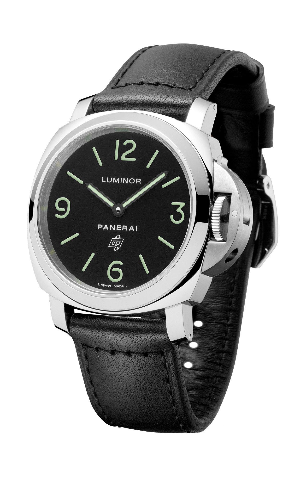 LUMINOR BASE LOGO ACCIAIO - 44MM - PAM01000