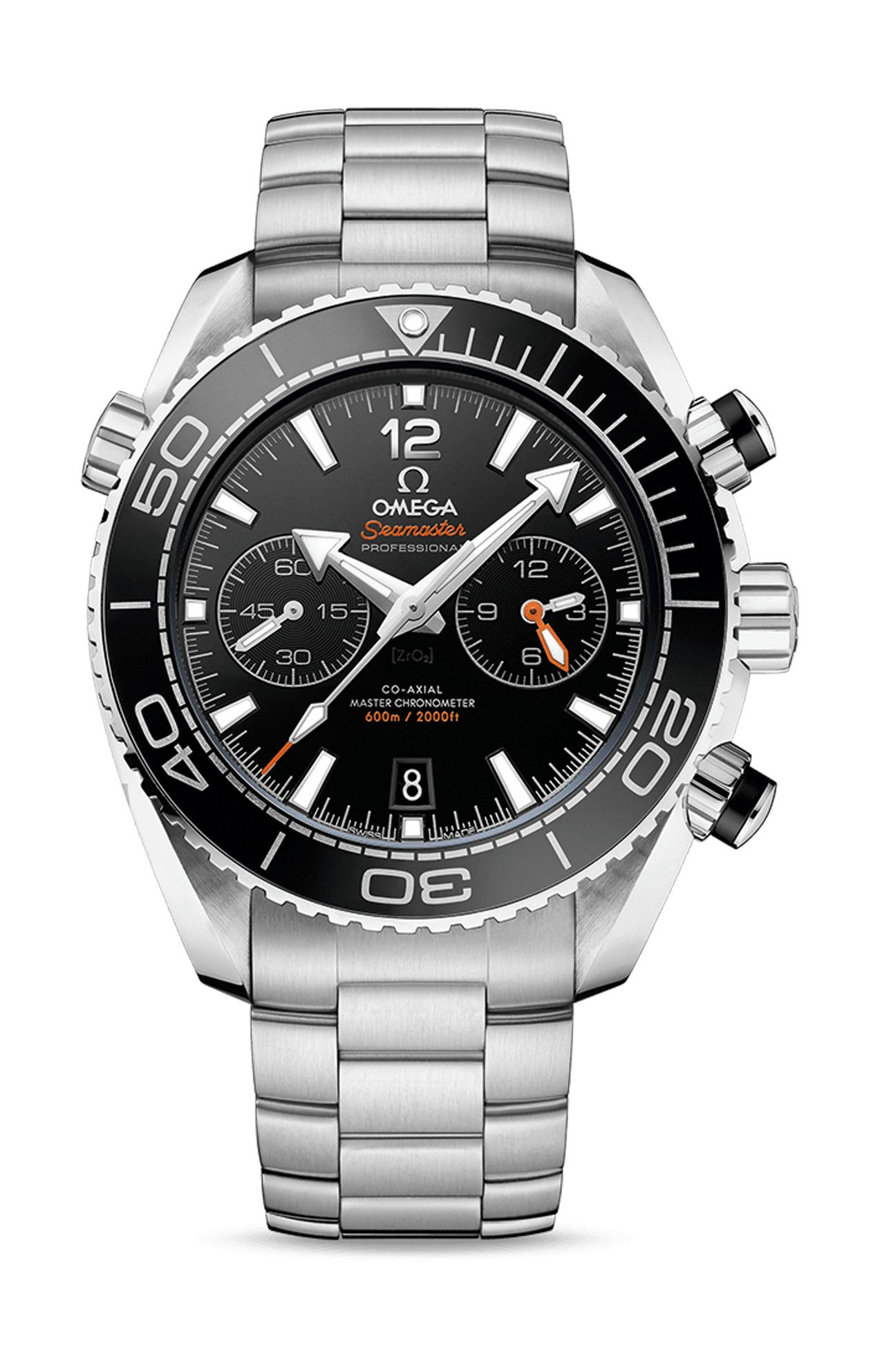 PLANET OCEAN 600M CO-AXIAL MASTER CHRONOMETER CHRONOGRAPH - 215.30.46.51.01.001
