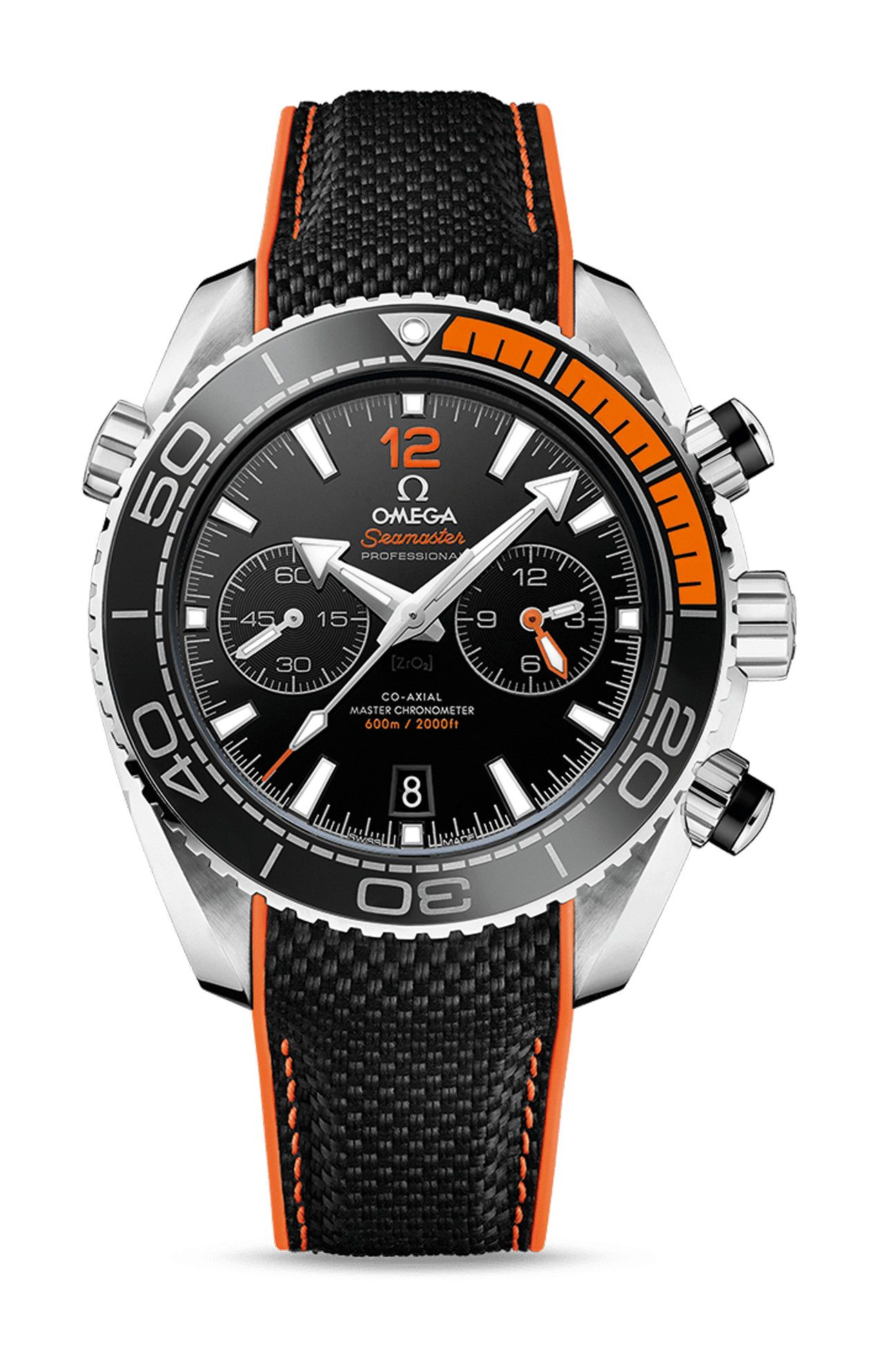 PLANET OCEAN 600M CO-AXIAL MASTER CHRONOMETER CHRONOGRAPH - 215.32.46.51.01.001