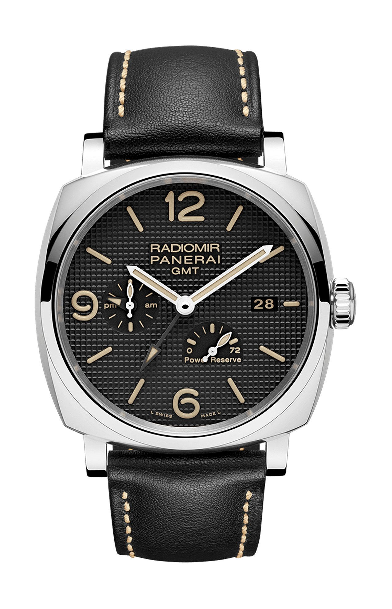RADIOMIR 1940 3 DAYS GMT POWER RESERVE AUTOMATIC ACCIAIO – 45MM - PAM00628