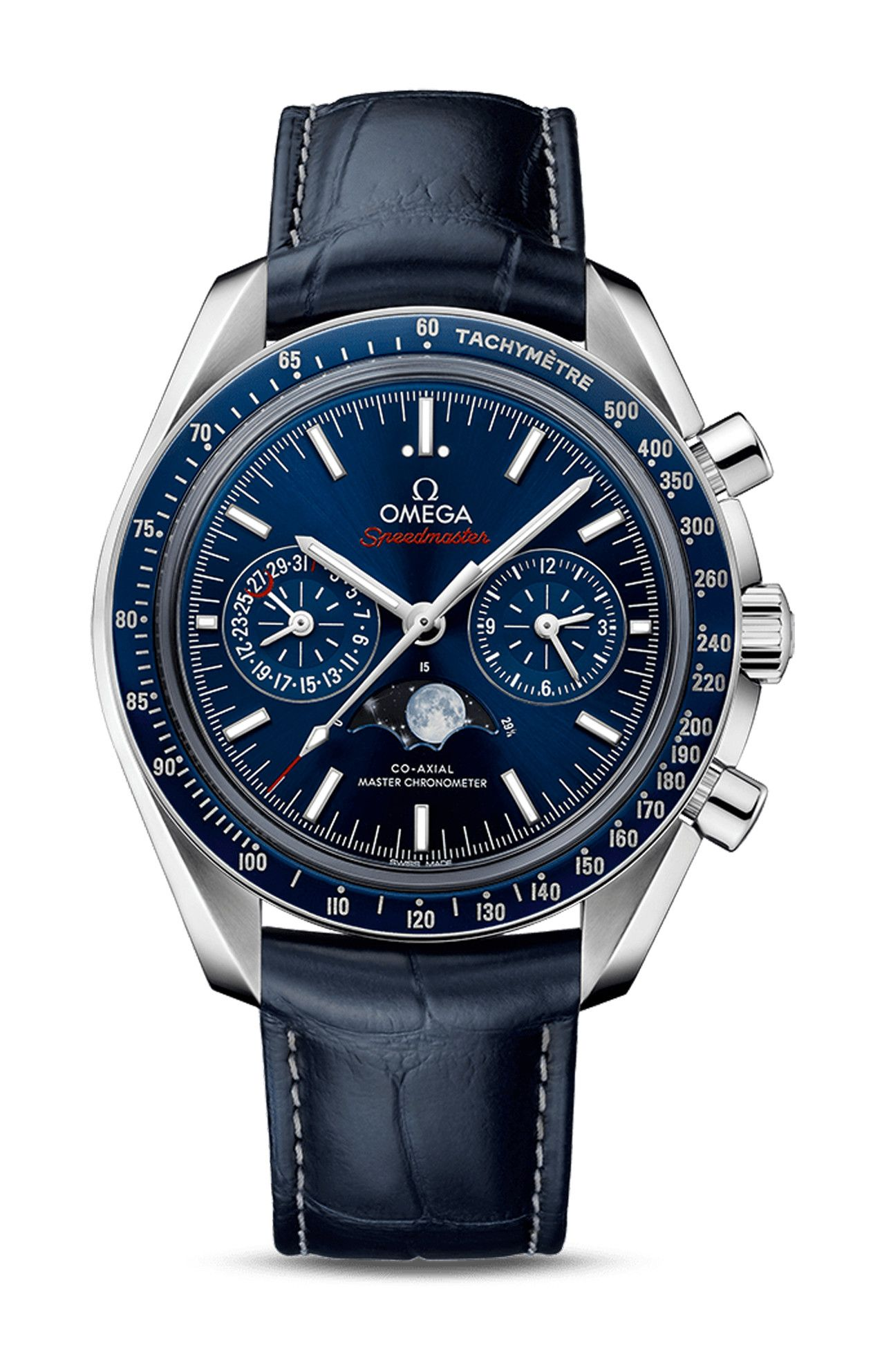 MOONPHASE CO-AXIAL MASTER CHRONOMETER CHRONOGRAPH - 304.33.44.52.03.001