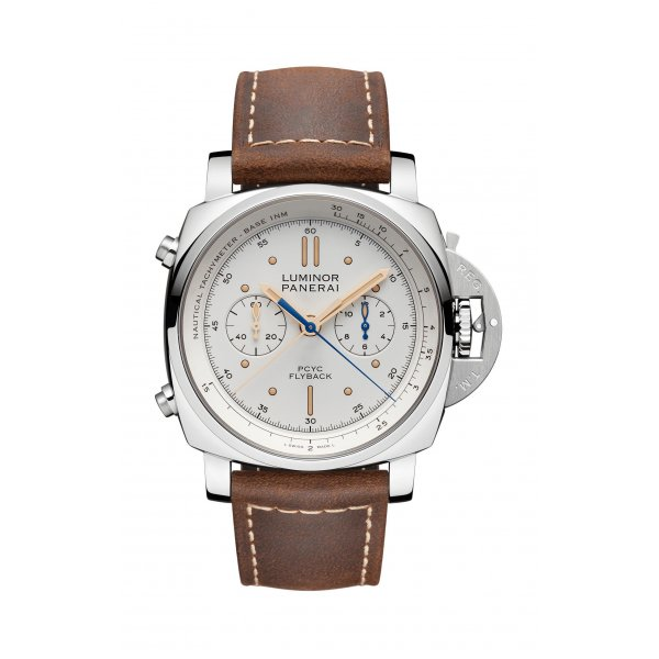 LUMINOR 1950 PCYC 3 DAYS CHRONO FLYBACK AUTOMATIC ACCIAIO - 44MM - PAM00654