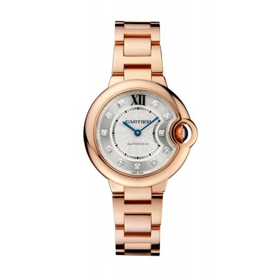 BALLON BLEU DE CARTIER 33 MM, ORO ROSA, DIAMANTI - WE902062