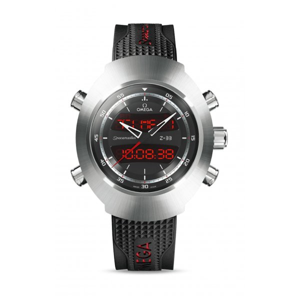 SPACEMASTER Z-33 CHRONOGRAPH GMT - 325.92.43.79.01.001