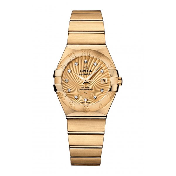 CONSTELLATION OMEGA CO-AXIAL 27 MM - 123.50.27.20.58.001