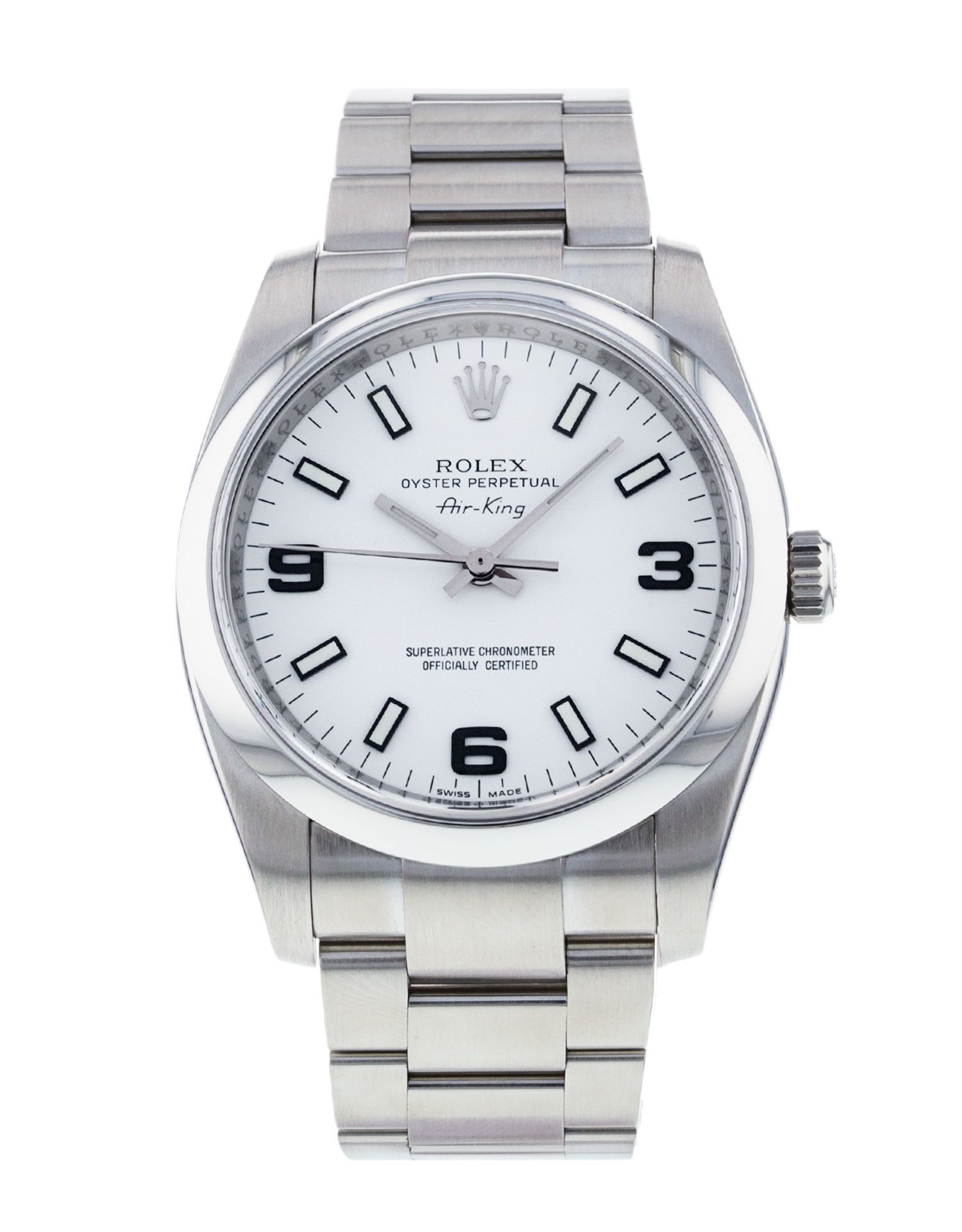 ROLEX OYSTER PERPETUAL AIR KING REFERENZA 114200