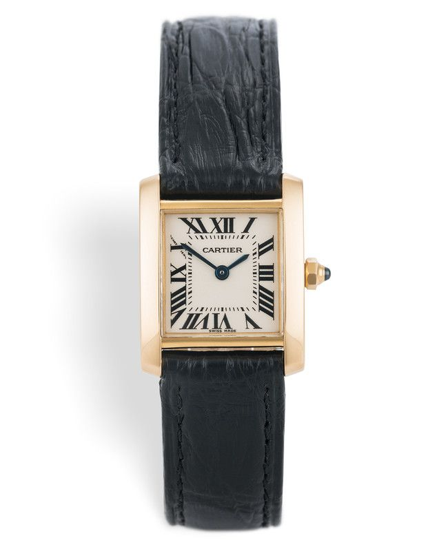 CARTIER TANK FRANCAISE REFERENZA W5000256