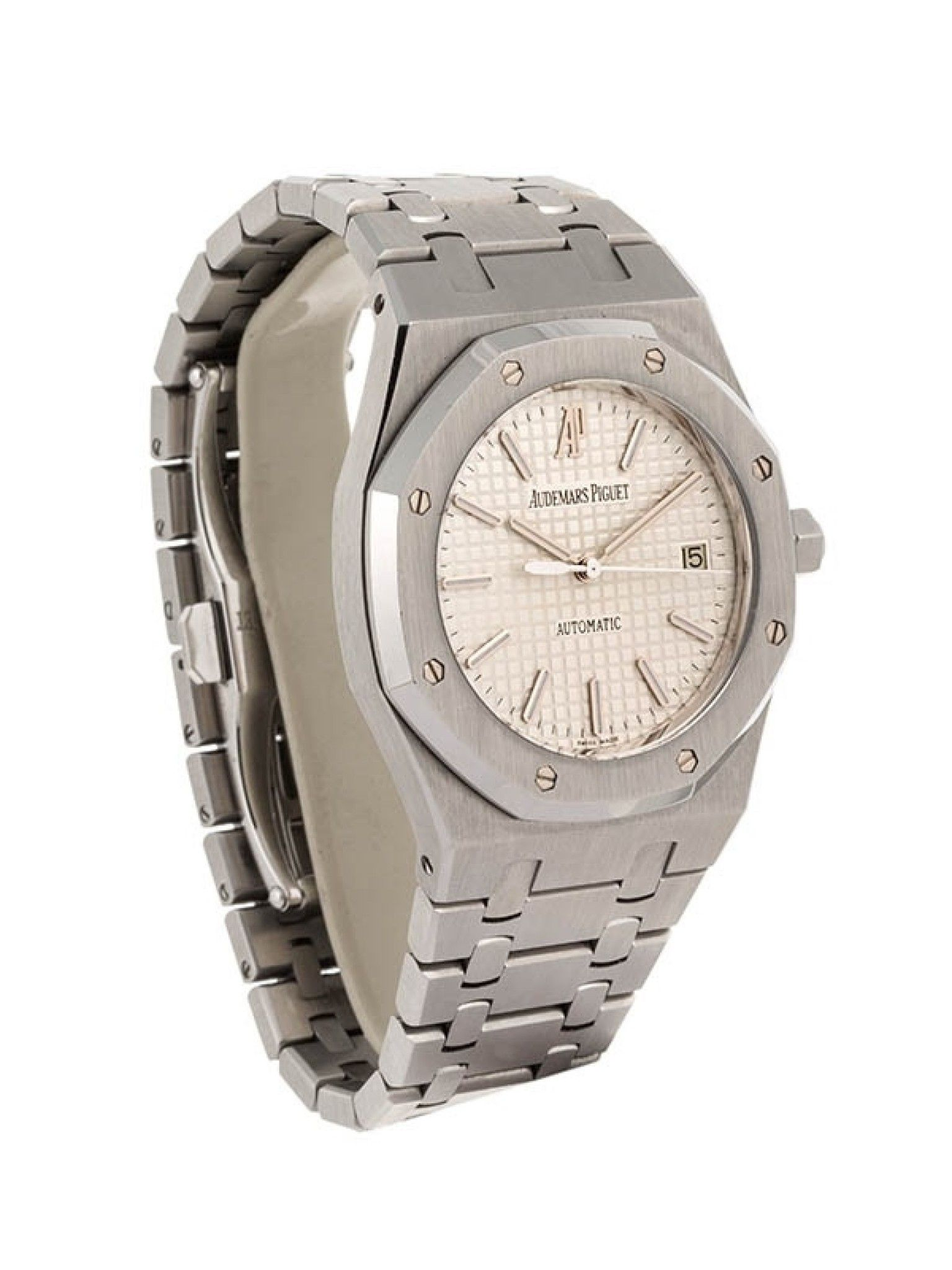 AUDEMARS PIGUET ROYAL OAK SOLO TEMPO 39MM IN ACCIAIO REFERENZA 15300ST