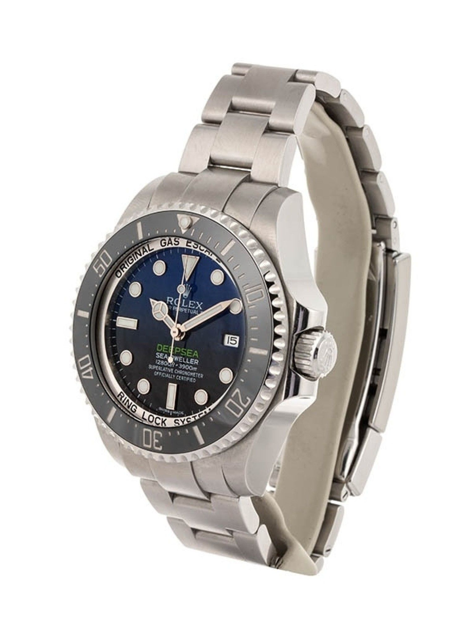 ROLEX DEEP-SEA D-BLUE 44MM IN ACCIAIO REFERENZA116660