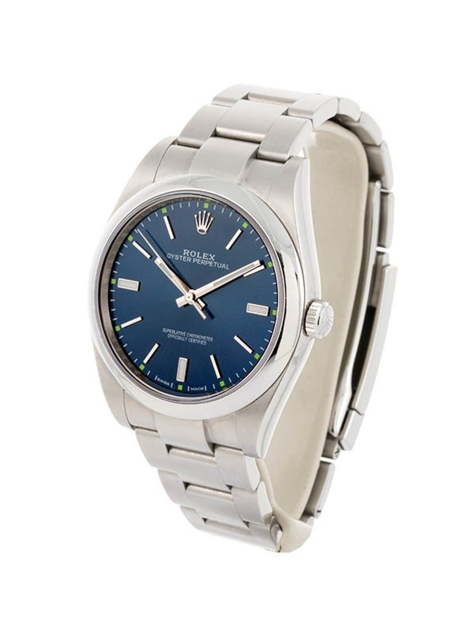 ROLEX OYSTER PERPETUAL 39MM IN ACCIAIO REFERENZA 114300