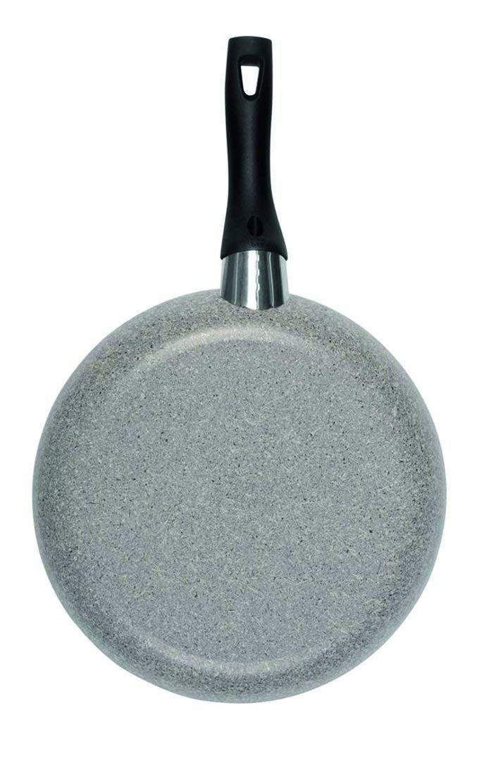 Ballarini Cortina Granitium Padella 1 Manico, Alluminio, Grigio, 28 cm