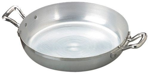 Agnelli Family Tegame 2 Manici, Diametro 28 cm, Alluminio, Argento Chiaro