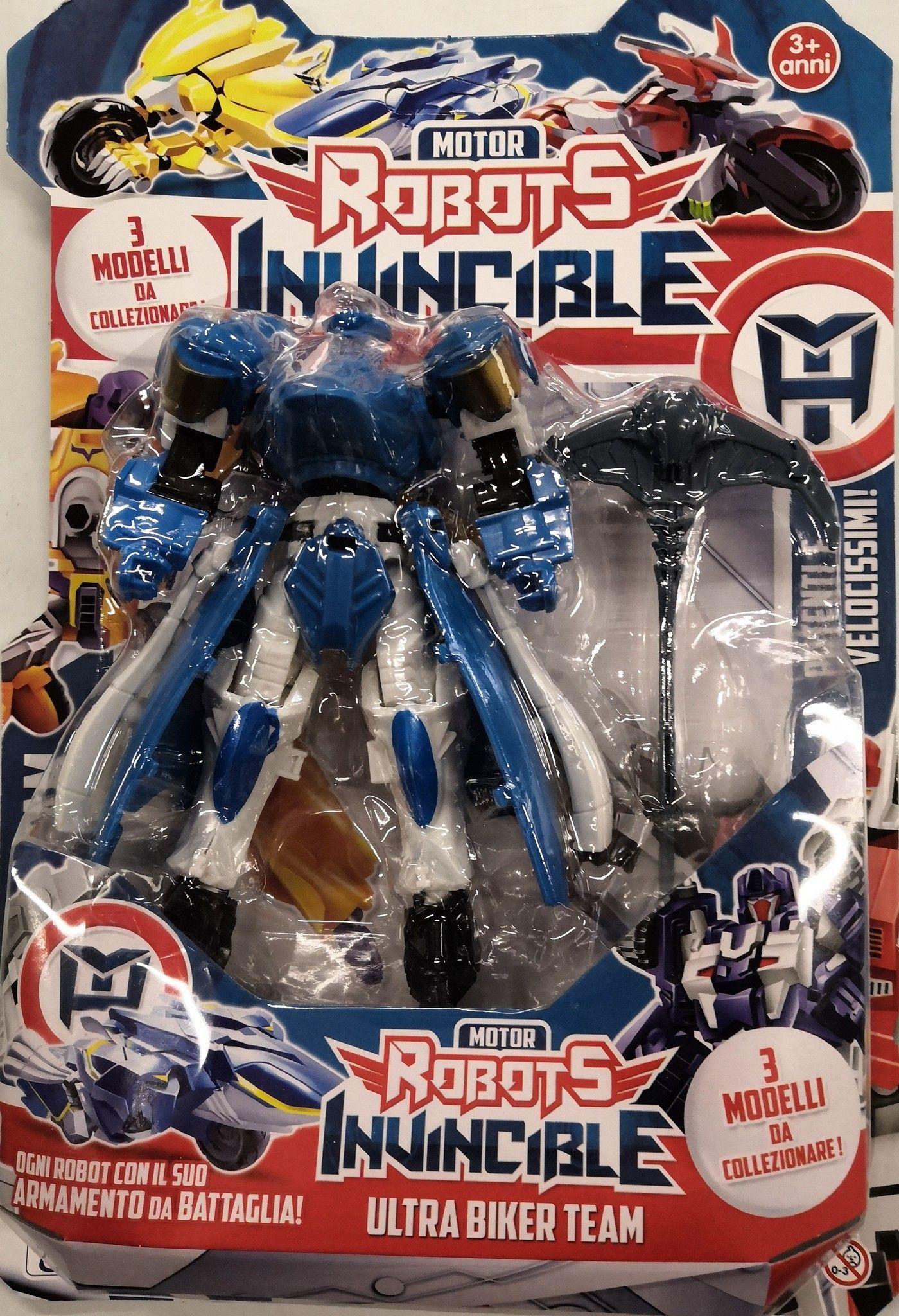 ROBOTS INVINCIBILE