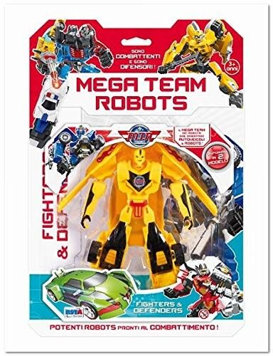 RONCHI SUPERTOYS SRL 10589 BL. Mega Team Robots