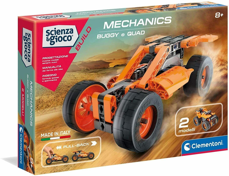Clementoni 19189 Scienza & Gioco - Buggy e Quad Pullback