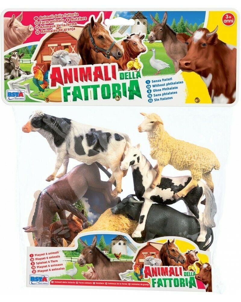 ANIMALI FATTORIA PZ.6 IN BUSTA