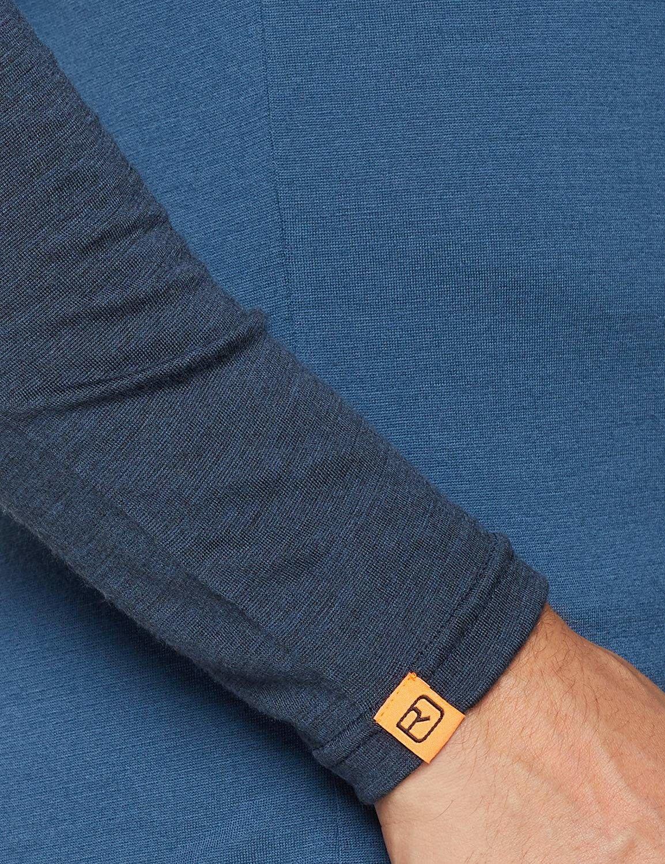 Ortovox 185 Rock' N 'Wool Long Sleeve  Maglietta Termica, Uomo