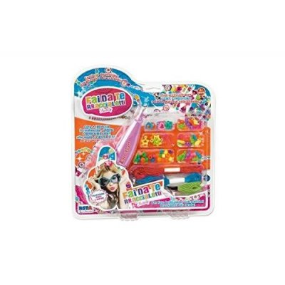 Ronchi Supertoys S.R.L- Creative Crea Braccialetti/Collane 9689, Multicolore, 880361