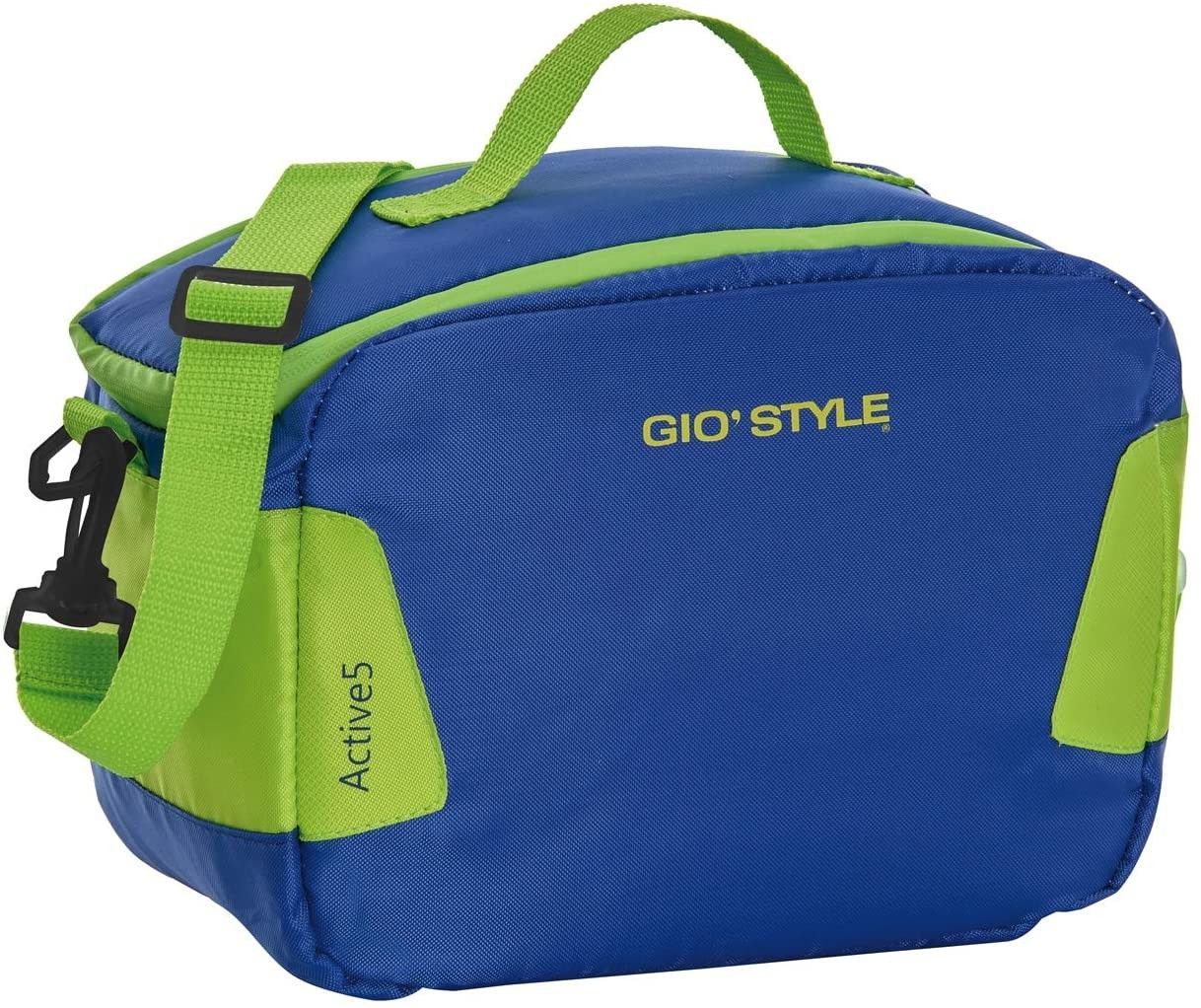 Giostyle 123 Lunch Bag lt.7 Active, Poliestere, Multicolore