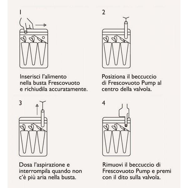 POMPETTA PER SOTTOVUOTO coll. Frescovuoto - Pump