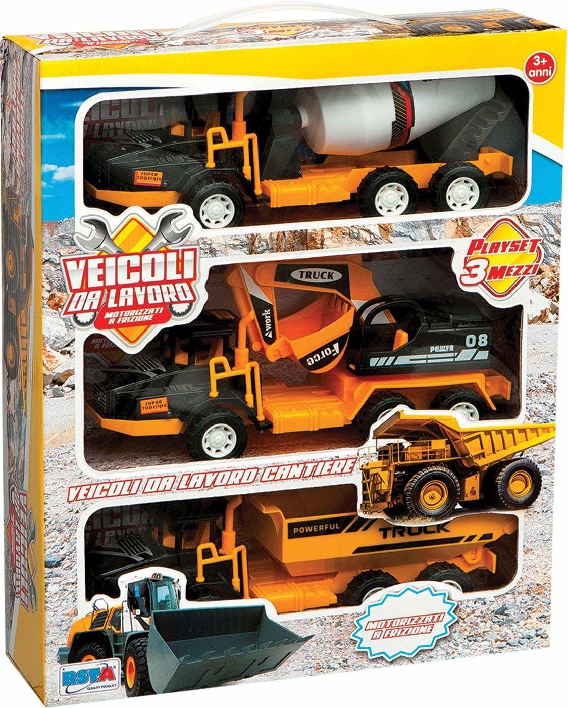 Italian Soul- RST 9681 Set 3 Veicoli da Lavoro FR, X08-ST-9681