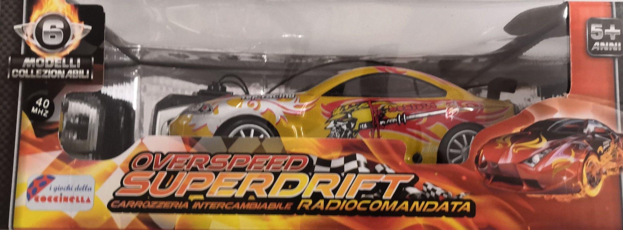 OVERSPEED SUPERDRIFT RADIOCOMANDATA