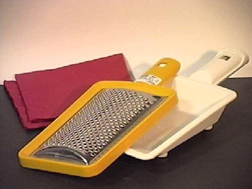 COSMOPLAST Grattugia con Cassetto Utensili da Cucina