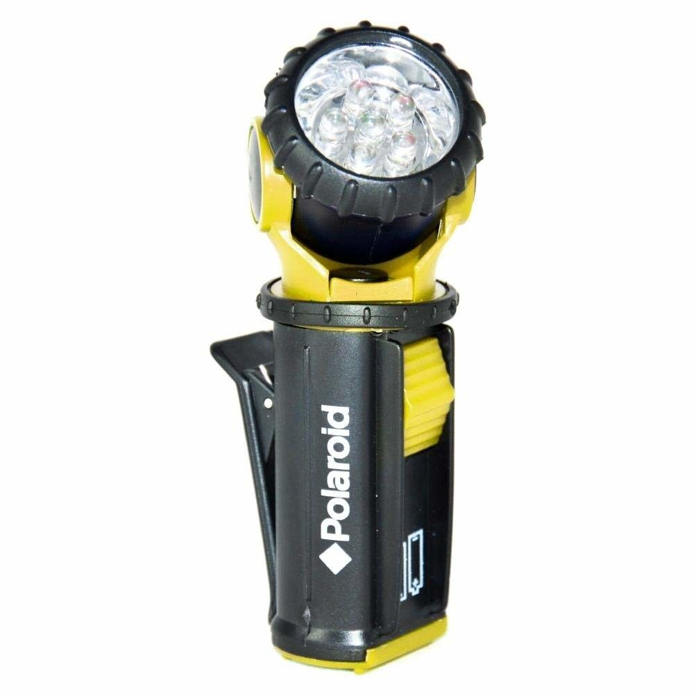 POLAROID TORCIA MINI 6 LED GIREVOLE POLAROID 717-000168 incluse 2 batterie R6P AA 8024018000168 (vari colori)