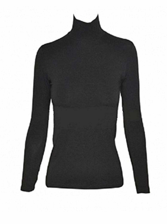 JADEA dolcevita donna maglia maglietta collo alto