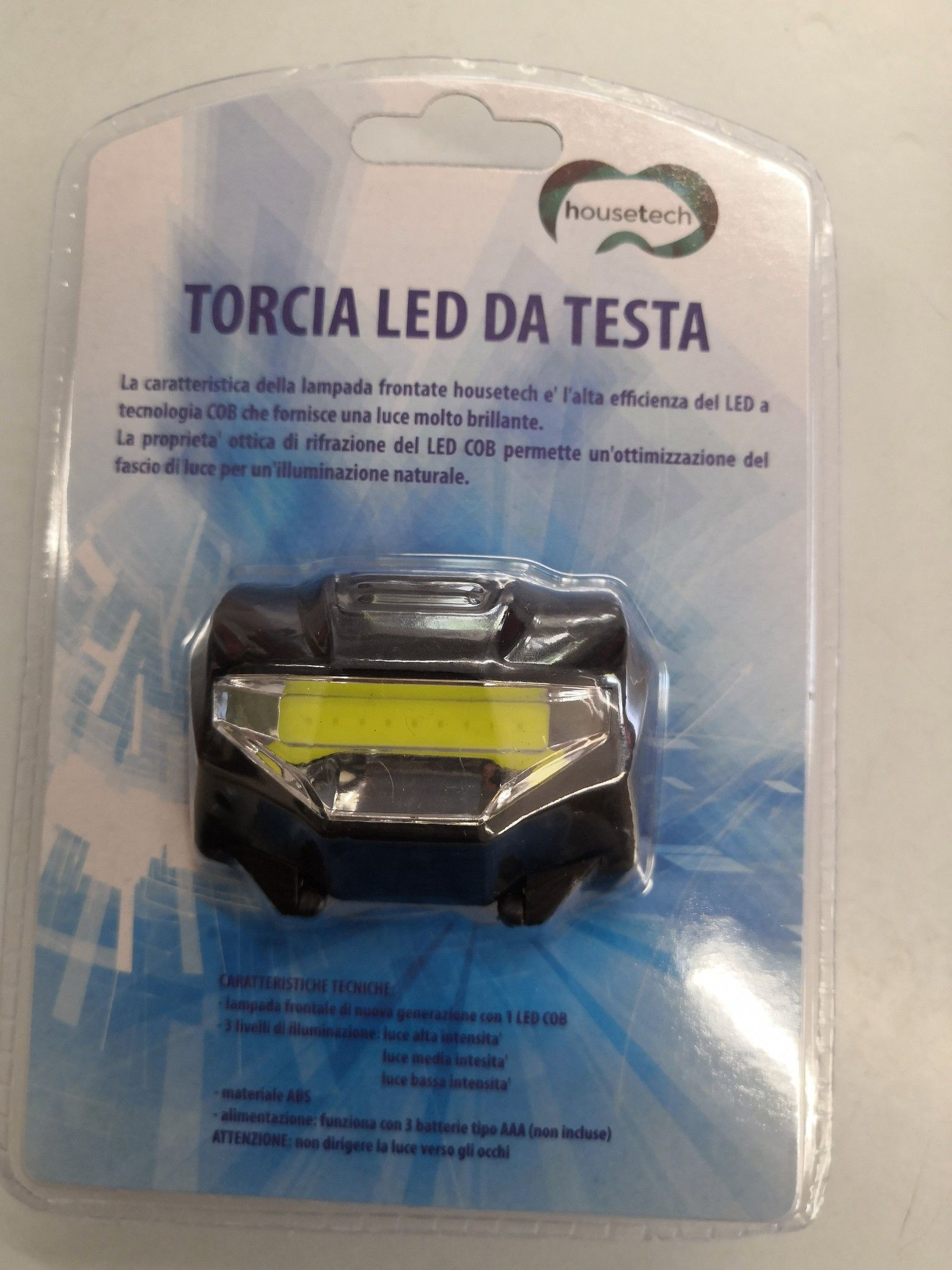TORCIA LED DA TESTA