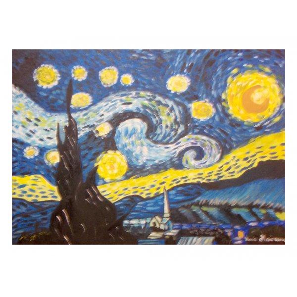 Notte Stellata - Copia di Van Gogh 50x70