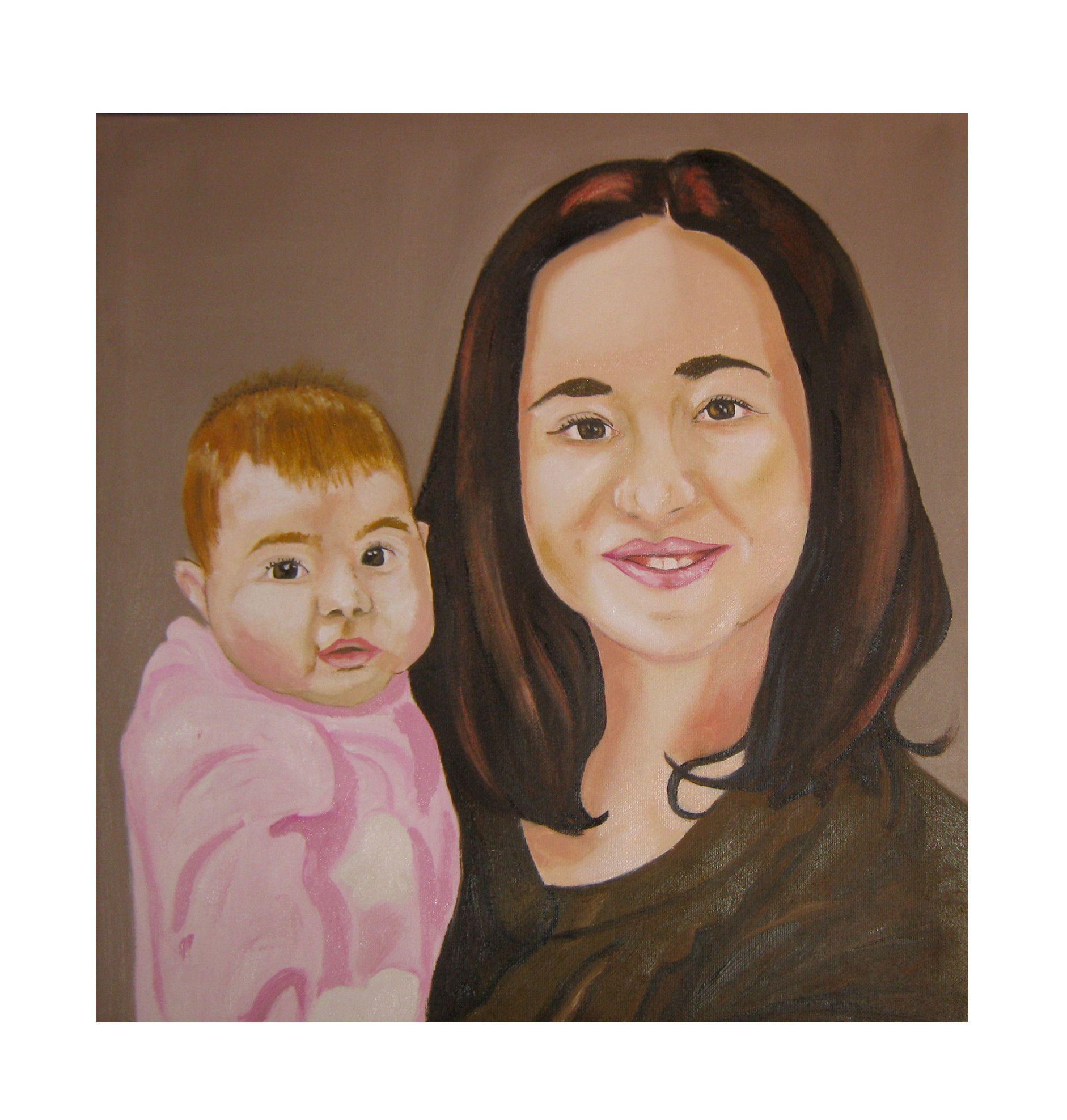 Ritratto Mamma e figlio