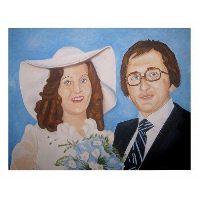 Ritratto per anniversario di matrimonio