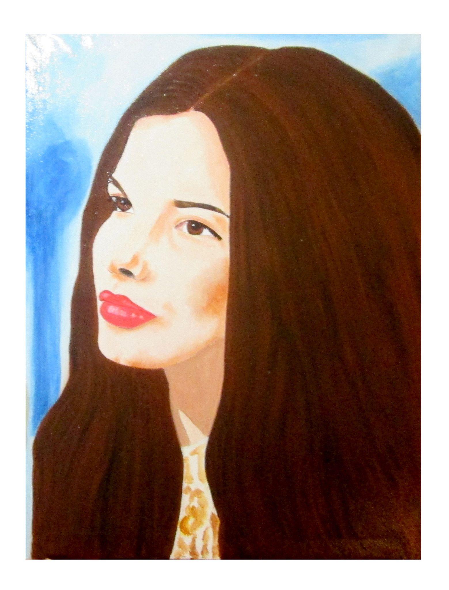 Ritratto donna mora - 100x70