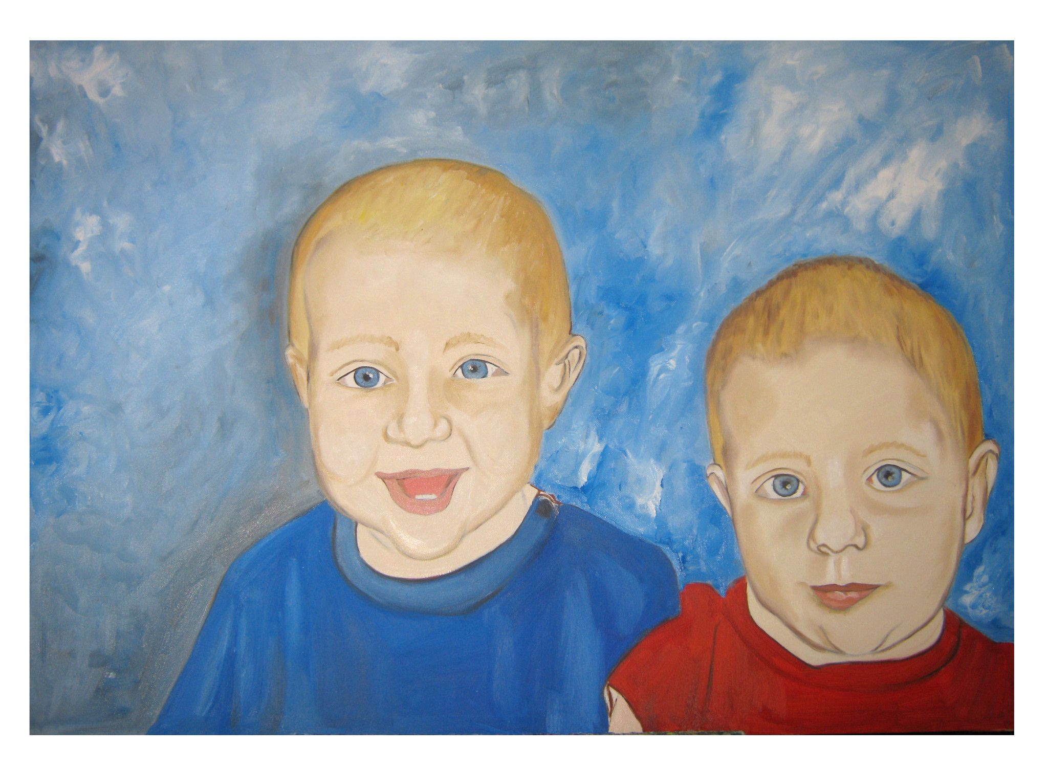 Ritratto coppia di gemellini