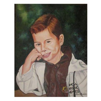 Ritratto di giovane ragazzo