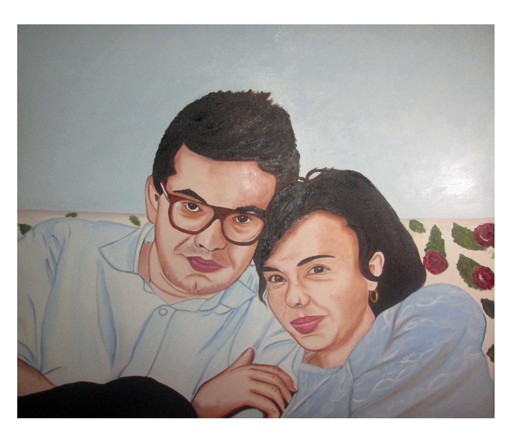 Ritratto di giovani fidanzati