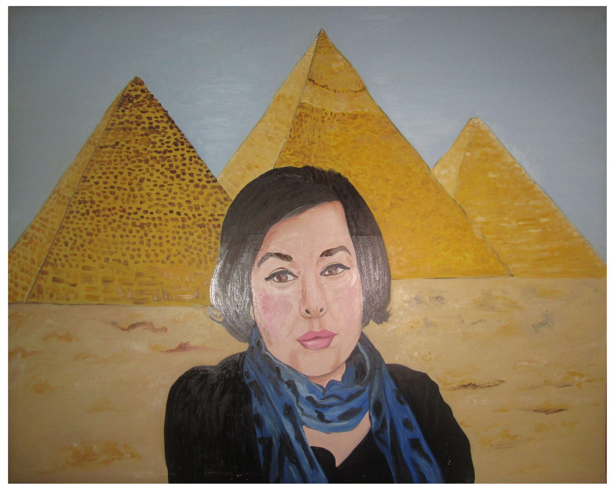 Ritratto donna in Egitto