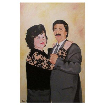 Ritratto di coniugi 100x70