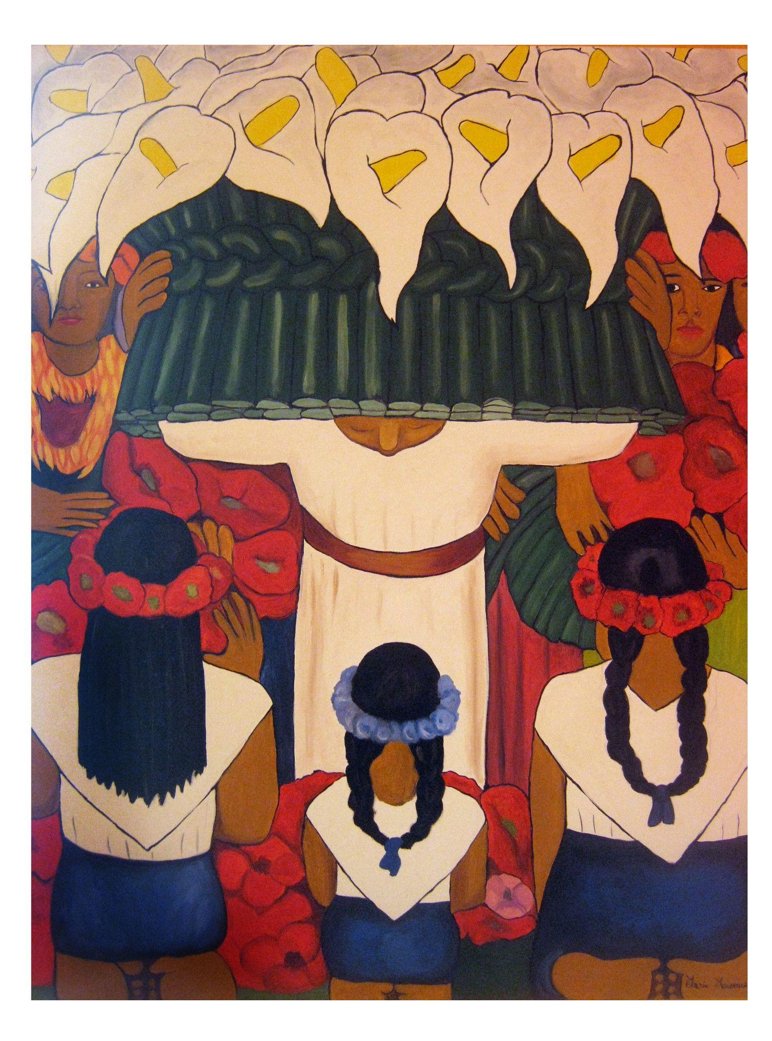 Festival dei fiori - Copia di Diego Rivera