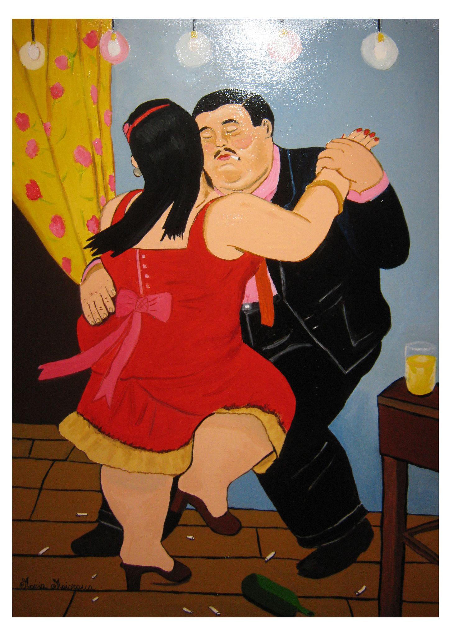 I ballerini - Copia di Fernando Botero