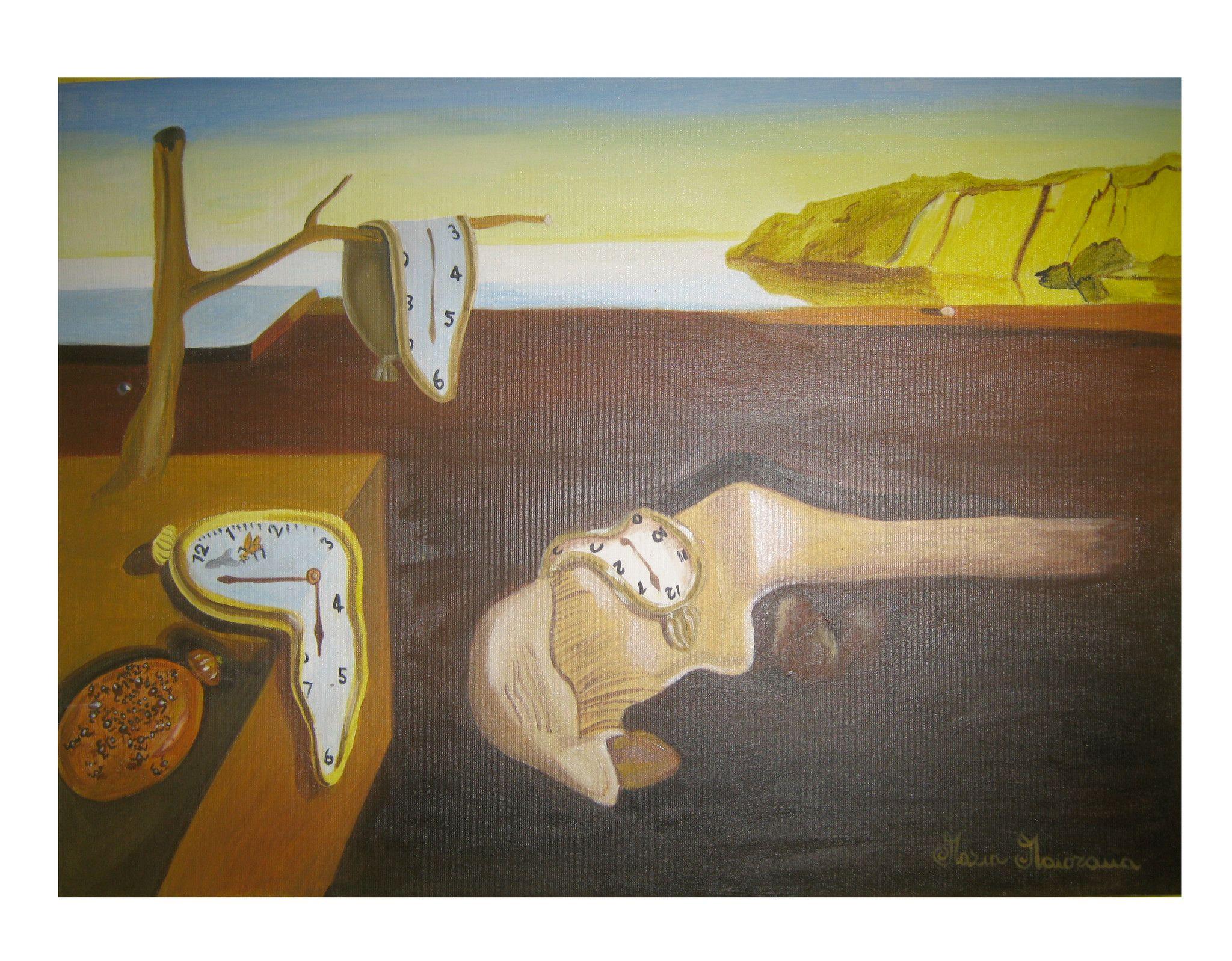 La persistenza della memoria - Copia di Salvador Dalí