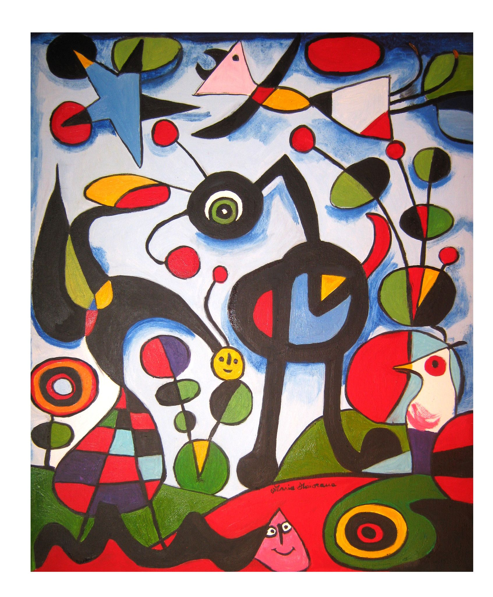 The Garden - Copia di Joan Miro