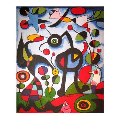 The Garden - Copia di Joan Miro