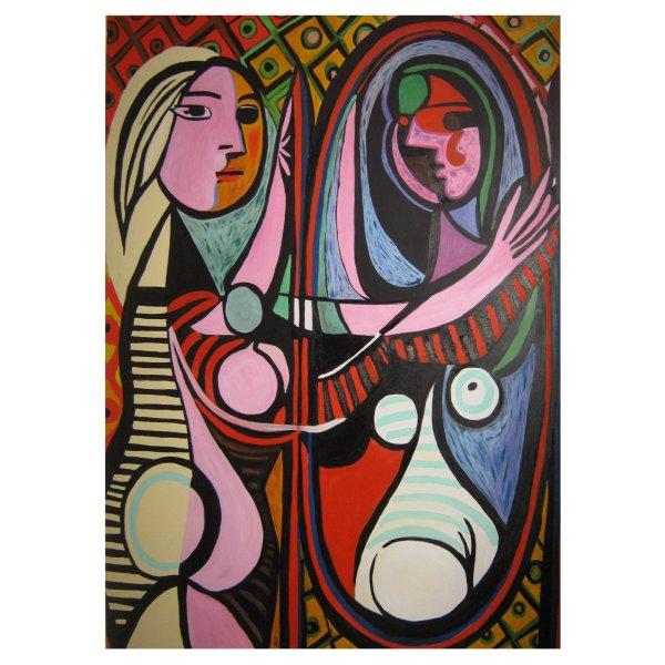La Ragazza davanti allo specchio - Copia di Pablo Picasso