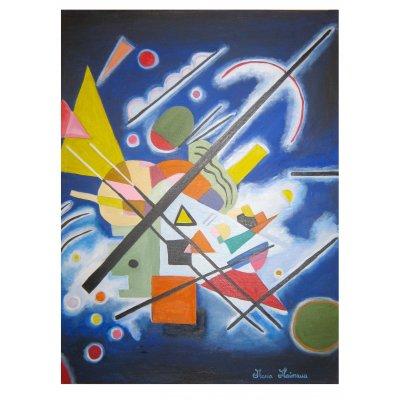 Utopia in blu - Copia di Vassily Kandinsky