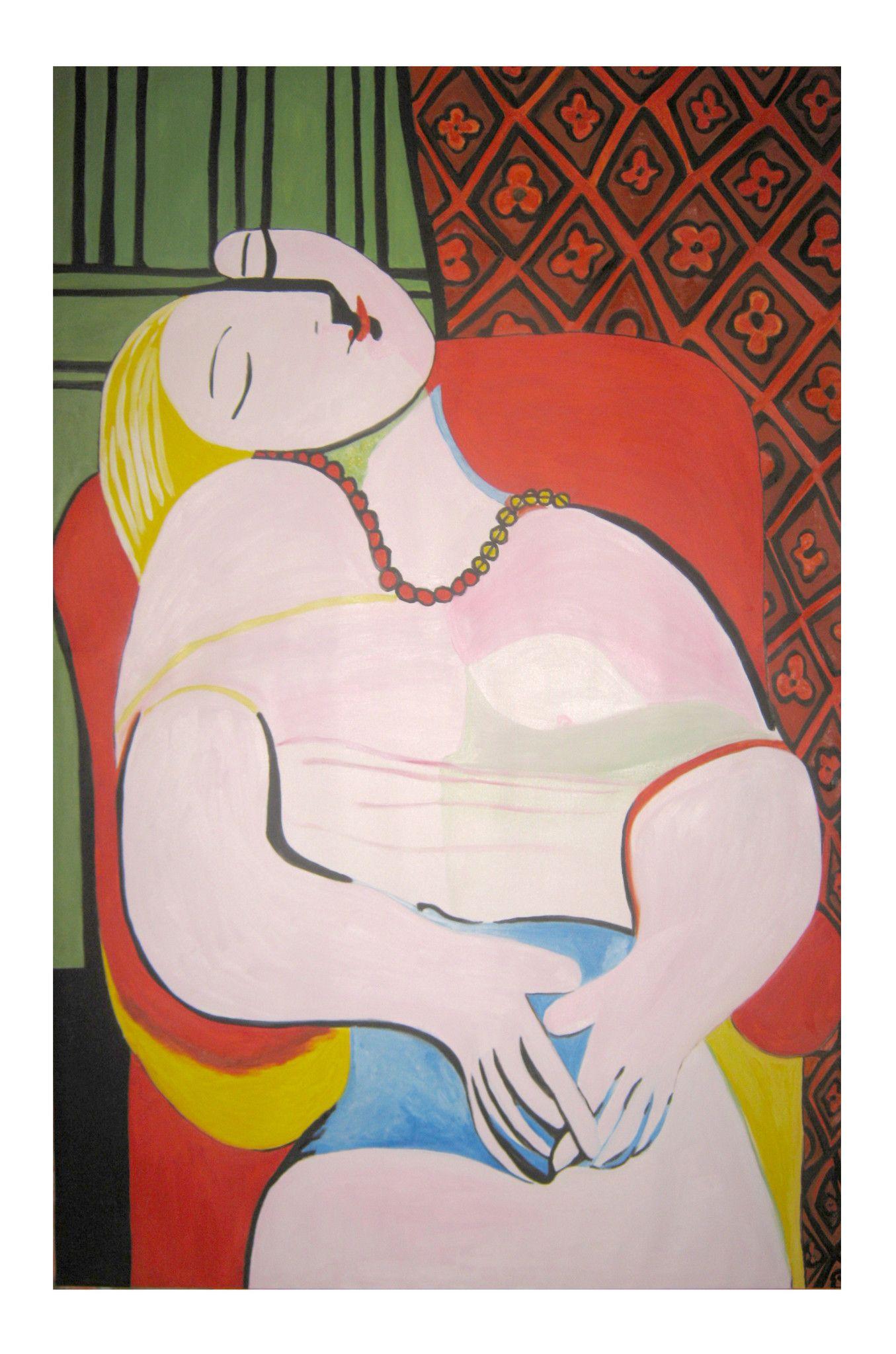 The Dream (Le Rêve) - Copia di Pablo Picasso