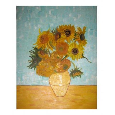 Vaso con dodici girasoli - Copia di Van Gogh